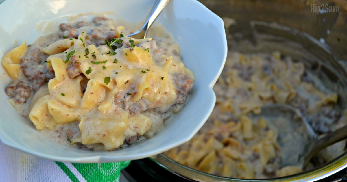 stroganoff dinner recipe