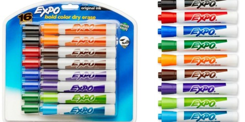16 EXPO Original Dry Erase Markers ONLY $6.99 Shipped (Just 44¢ Each)