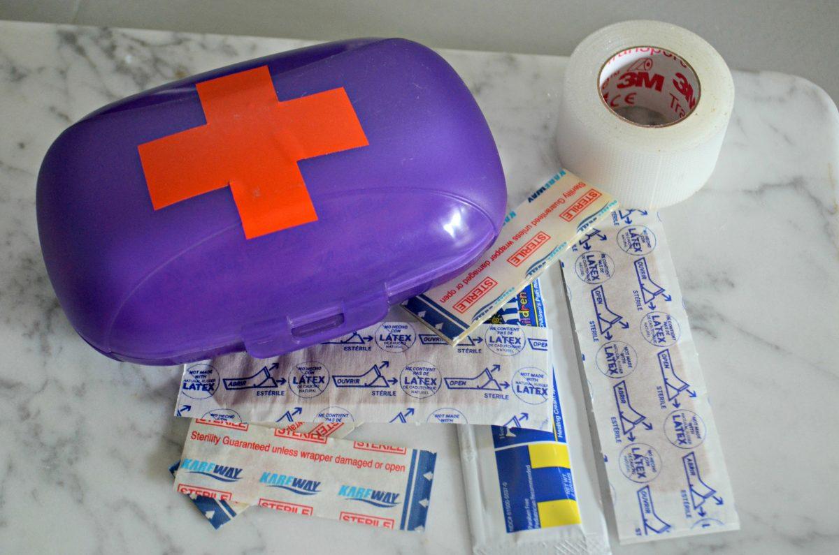 Dollar Tree Back to School hacks – mini first aid kits