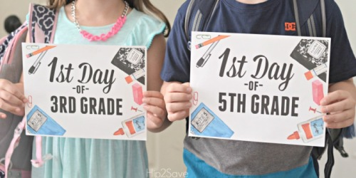 15 Of Our BEST Back to School Ideas (Lunches, Crafts, Free Printables, Organizing & More)