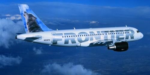 WHOA! 90% Off Frontier Airlines Flights