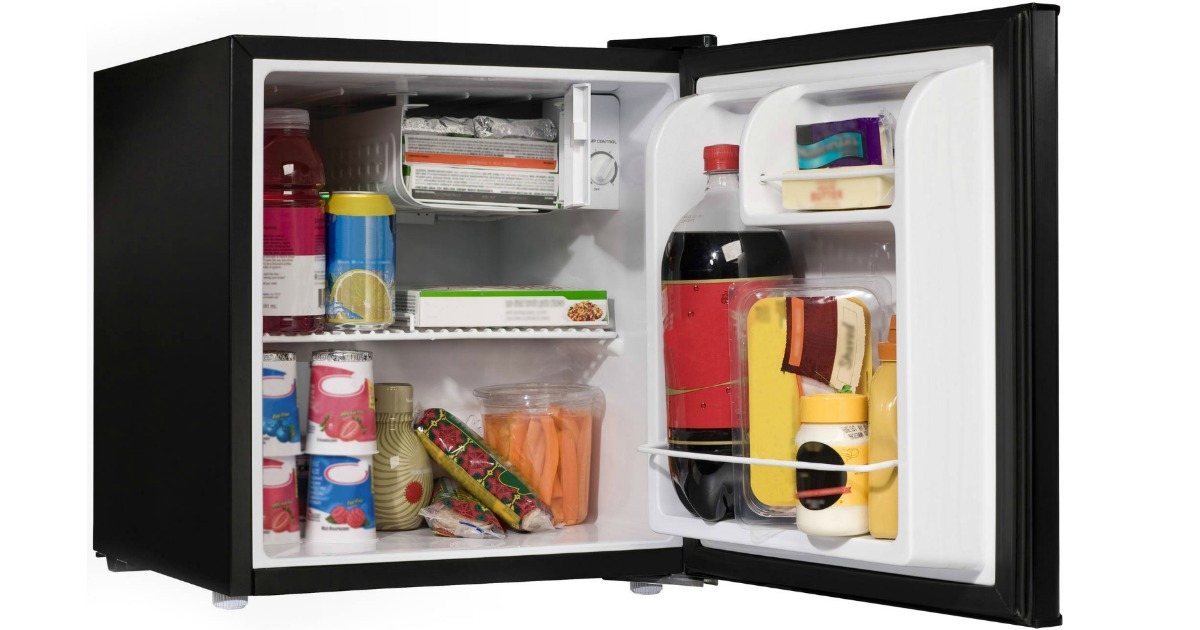 Compact Fridge For Dorm: Walmart: Galanz Compact Refrigerator Only $59 Shipped