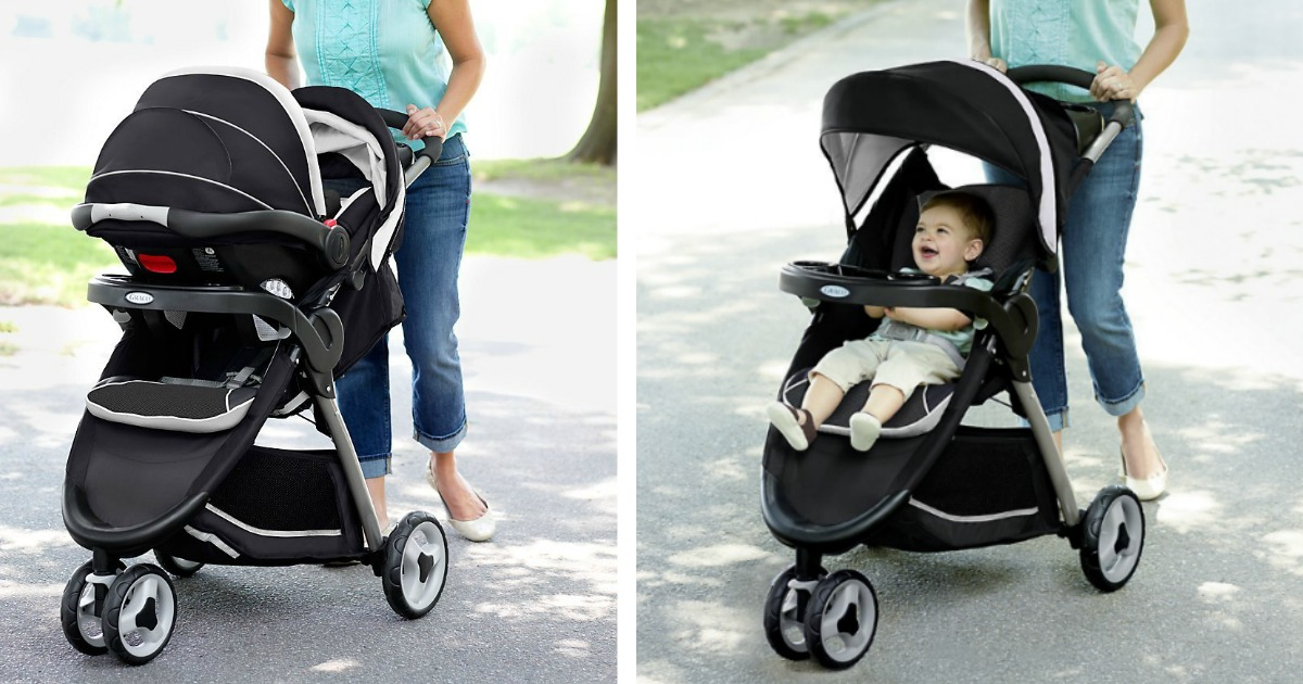 ccd05ea4cc75 Graco FastAction Fold Sport Click Connect Travel System Only  143  (Regularly  219) - Hip2Save