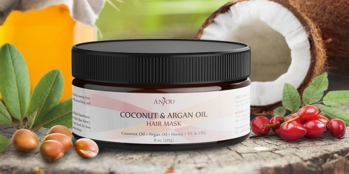 Amazon: Anjou Coconut Oil Hair Mask Only $6.49