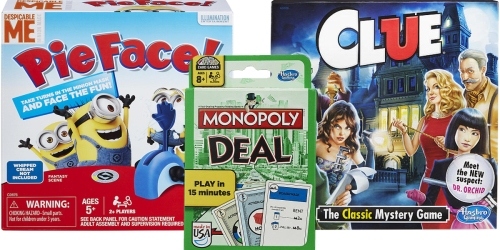 ToysRUs: Monopoly Deal Card Game Only $3.99 (Regularly $7) + More Hasbro Game Deals