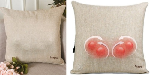 Amazon: Naipo Lower Back Massager Pillow w/ Heat Only $67.99 Shipped & More