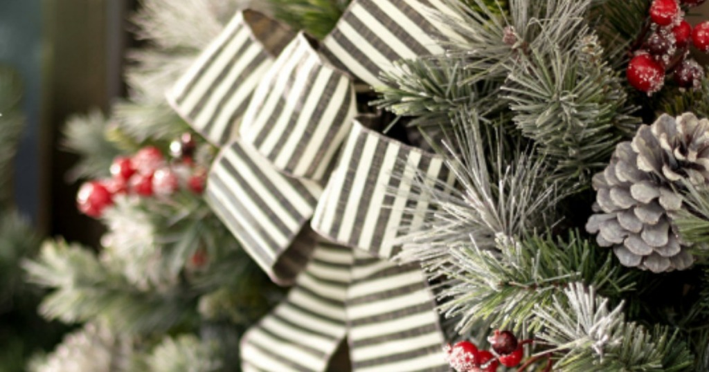 Home Depot Up To 75 Off Holiday Decor 24 Pre Lit Wreath W 35