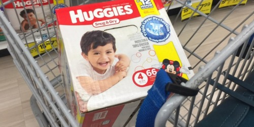 Rite Aid: Huggies Boxed Diapers Just $10.49 Each (Regularly $23.99)