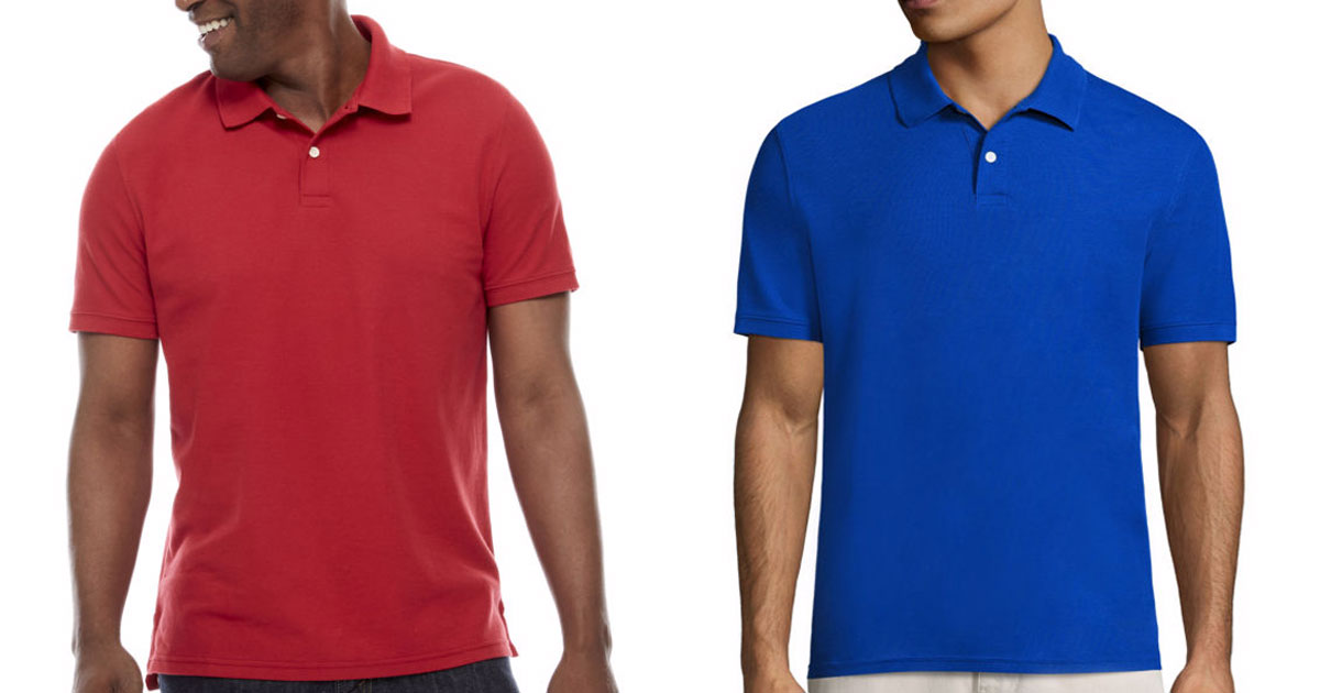 d30e5774 JCPenney: St. John's Bay Polo Shirts Just $5.67 Each (Regularly $26 ...