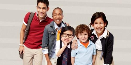 Buy 1, Get 1 FREE JCPenney School Uniform Separates + Extra Savings w/ Promo Code