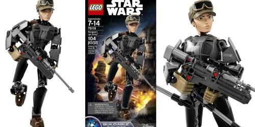 Amazon:  LEGO Star Wars Sergeant Jyn Erso Figure Just $10.63 (Regularly $24.99)