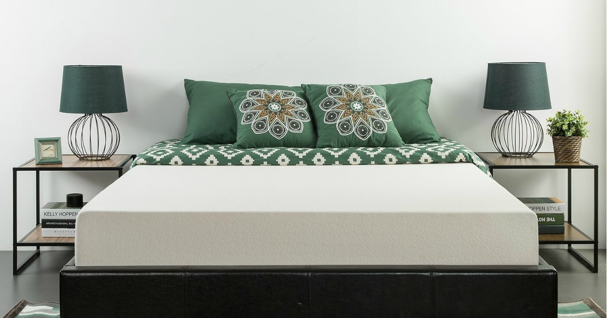 Amazon King Size Zinus Memory Foam Green Tea Mattress