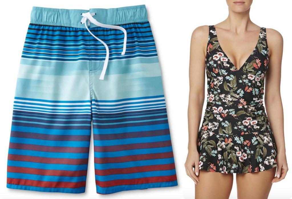 95a7112c45 Joe Boxer Boys' Swim Boardshorts – Striped ONLY $6.49 (reg. $12.99)