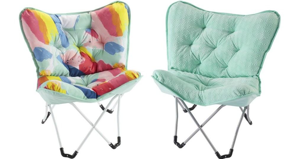 Kohl S Cardholders Memory Foam Butterfly Chair Just 28 05