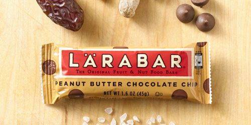 Lärabar Gluten Free Bars 16-Count Only $10.66 Shipped at Amazon | Just 66¢ Each