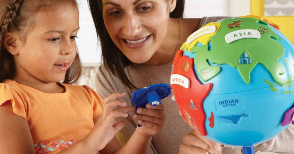 Learning Resources 3D Geography Puzzle Globe