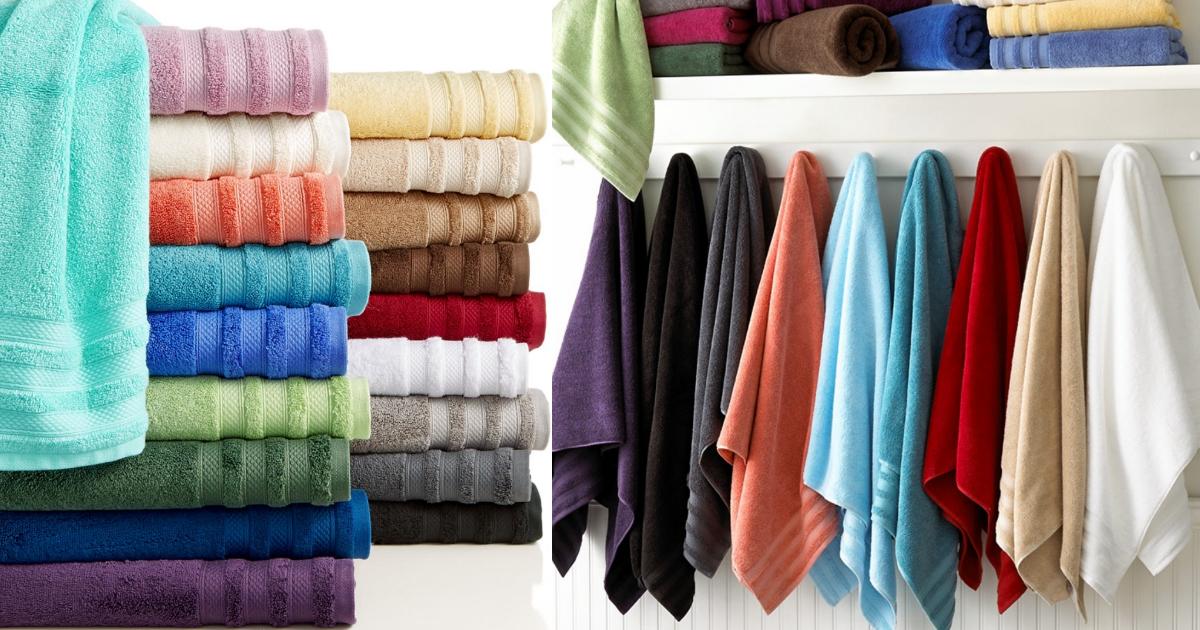 Macy S 10 Off 25 Purchase 2 Pima Cotton Bath Towels