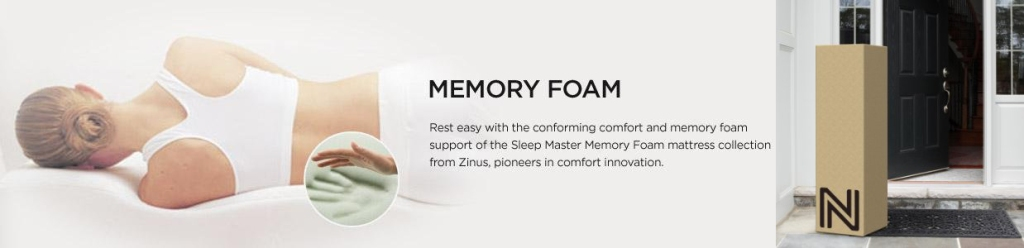 Amazon Prime Zinus Memory Foam Mattresses As Low As 109