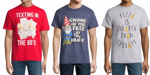 JCPenney: Men's Graphic Tees Only $3.50 (Regularly $12) + More!