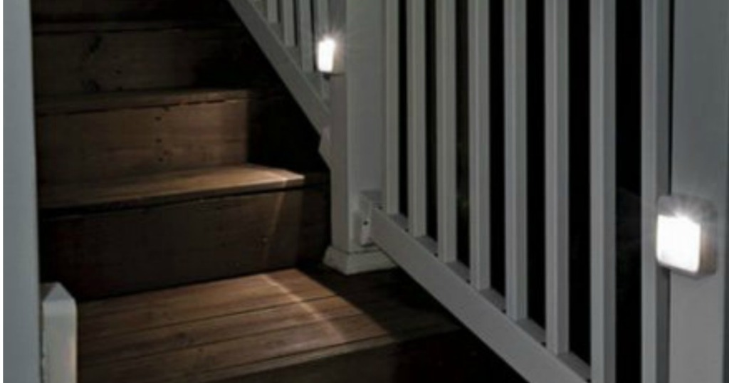 Mr Beams Motion Sensor Led Night Lights Set Of 6 Only 26