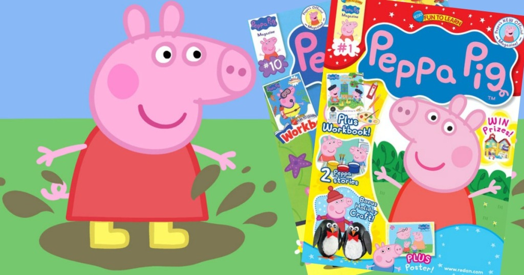 Peppa Pig Magazine Only 12 49 Per Year Just 2 08 Per Issue