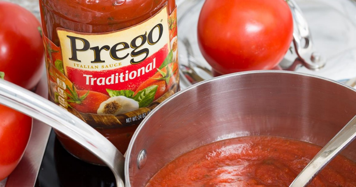 image about Prego Printable Coupons referred to as Clean $1/1 Prego Sauce Coupon \u003d Merely 99¢ at Emphasis (Continually