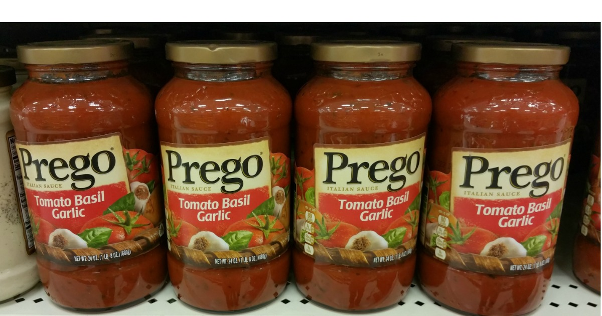 graphic about Prego Printable Coupons named Refreshing $1/1 Prego Sauce Coupon \u003d Simply just 99¢ at Concentration (Continually