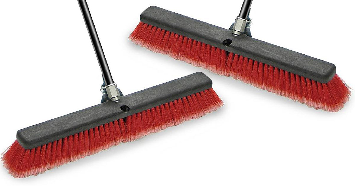 Sears Craftsman 24 Dual Fill Push Broom Only 10 99