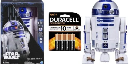 Walmart.com: Star Wars Smart R2-D2 Just $34.99 (Regularly $90) – Comes w/ Batteries