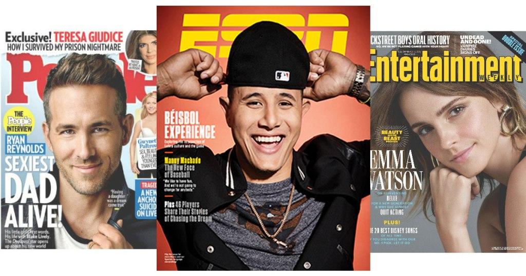 FREE Magazine Subscriptions to People, ESPN Magazine