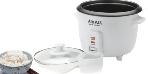 Walmart.com: Aroma 6-Cup Rice Cooker Only $10.88 (Regularly $20)