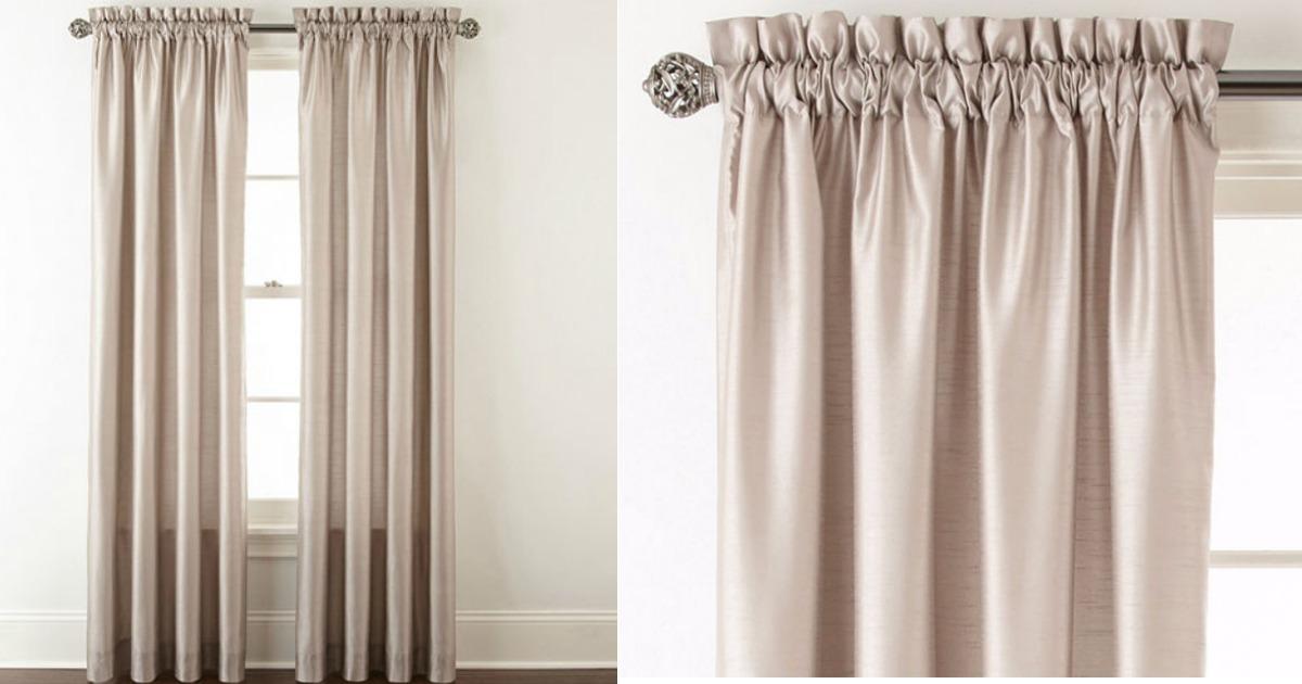 JCPenney Royal Velvet Thermal Curtain Panels ONLY 1259 Regularly 50