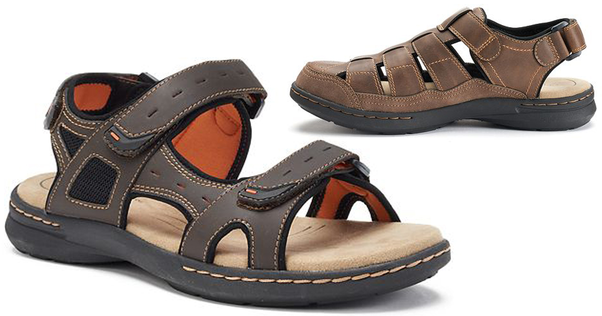 Kohl's: Men's Croft \u0026 Barrow Sandals