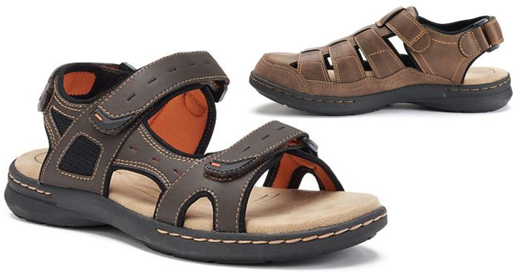 26f17a1c18b Kohl s  Men s Croft   Barrow Sandals Only  13.59 (Regularly  60 ...