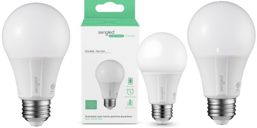 Home Depot: Smart LED Light Bulb ONLY $7.99 (Works w/ Alexa & More)