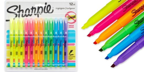 Sharpie Highlighters 12 Count Pack Only $4.97 (Ships w/ $25+ Order!)