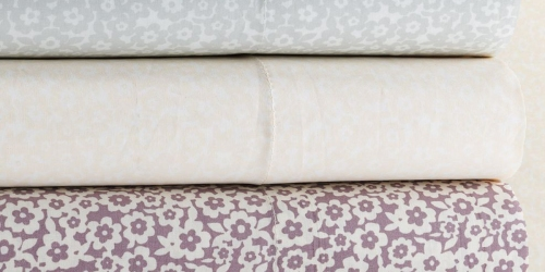 Kohl's Cardholders: Lauren Conrad Sheet Sets As Low As $14.34 Each Shipped (Regularly $85)