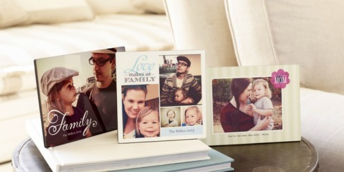 Choose FOUR Free Shutterfly Photo Gifts (Just Pay Shipping) | Plaque, Key Ring & More