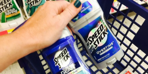 Walgreens: Speed Stick Deodorant Only 89¢ Each After Rewards (No Coupons Needed)