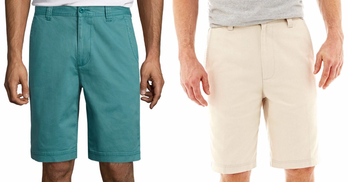 4ca4c5a81b JCPenney: Men's St. John's Bay Shorts Only $6.65 (Regularly $36 ...