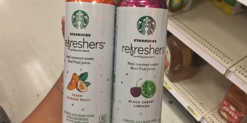 Amazon: Starbucks Refreshers 12-Pack Only $11.25 Shipped (Just 94¢ Per Can)
