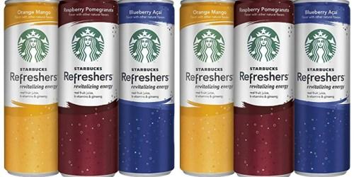 Amazon Prime: Starbucks Refreshers 12-Pack JUST $12.35 Shipped