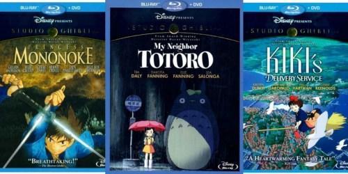 BestBuy.com: Select Disney Blu-ray/DVD Combos Only $11.99 Each (Princess Mononoke & More)