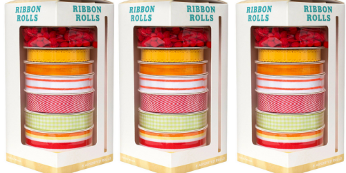 Target.com: 8 Pack of Ribbon Rolls Only $3.48 (Regularly $10) – Just 44¢ Per Roll