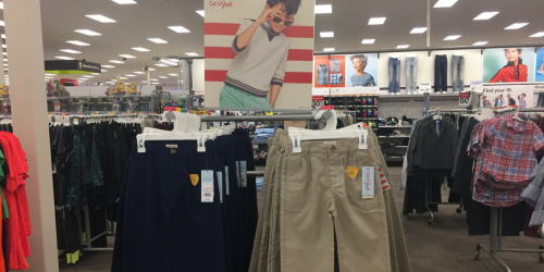 Target: Deep Discounts on School Uniforms (Online & In Store) – Prices Start at Only $2.78!