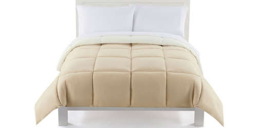 Kohl's Cardholders: Down Alternative Comforters ALL Sizes Only $20.99 Each Shipped (Reg. Up to $119)