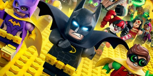 LEGO Batman Movie Blu-ray Only $4 on Amazon