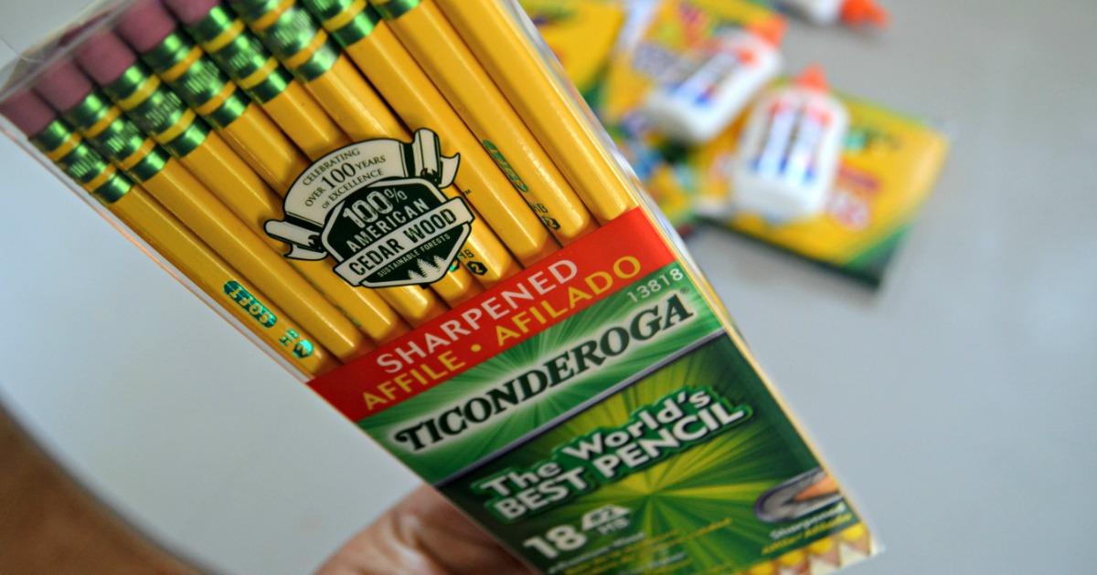 Ticonderoga pencils closeup