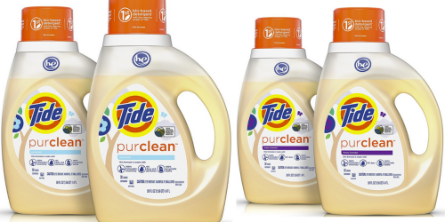 Amazon Prime: TWO Bottles Tide Purclean Detergent Only $11 Shipped (17¢ Per Load)