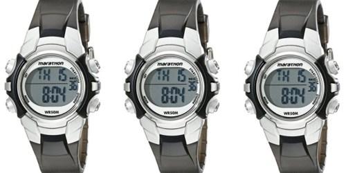 Amazon: Timex Marathon Mid-Size Watch Only $8.36 (Regularly $23)